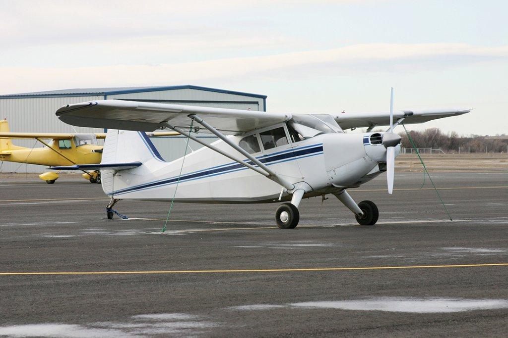 Piper Single-Engine Airplane
